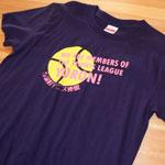 部活Tシャツのプリント作成例